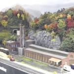 Paper mill at McClure, VA
