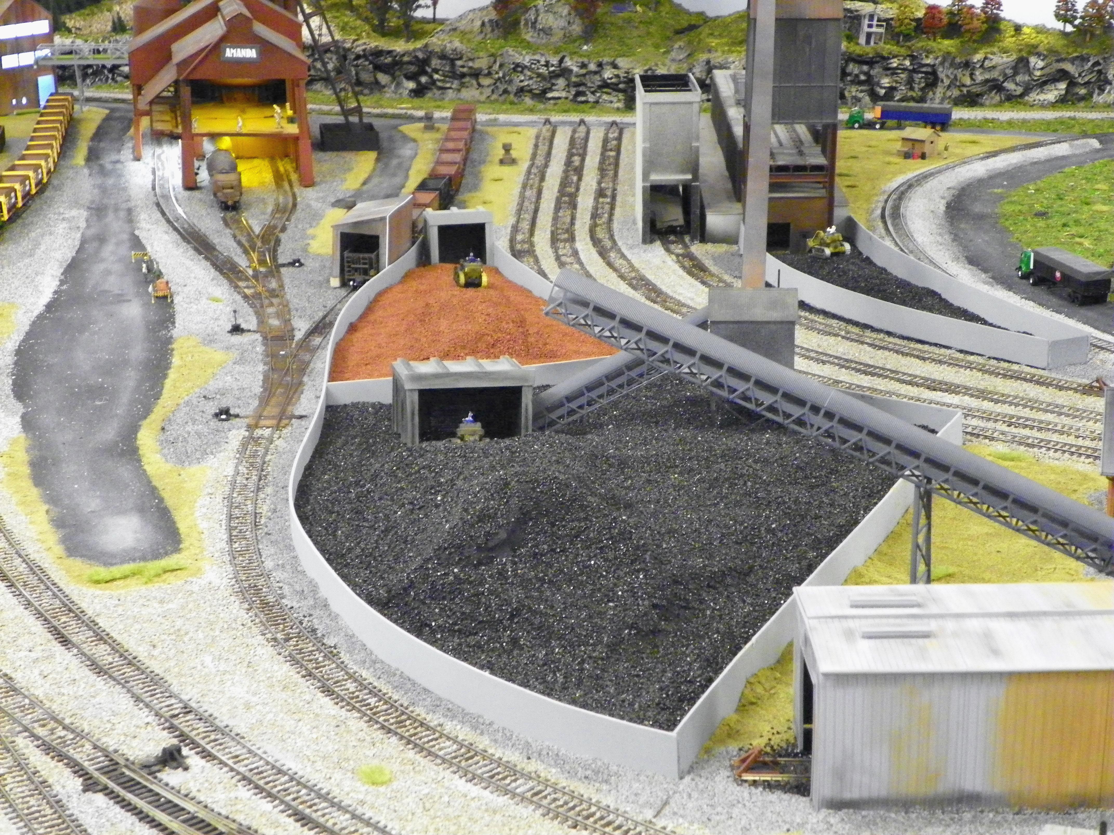 coal-ore dump
