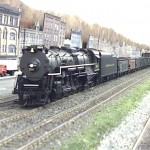 C&O T-1 with a coal drag